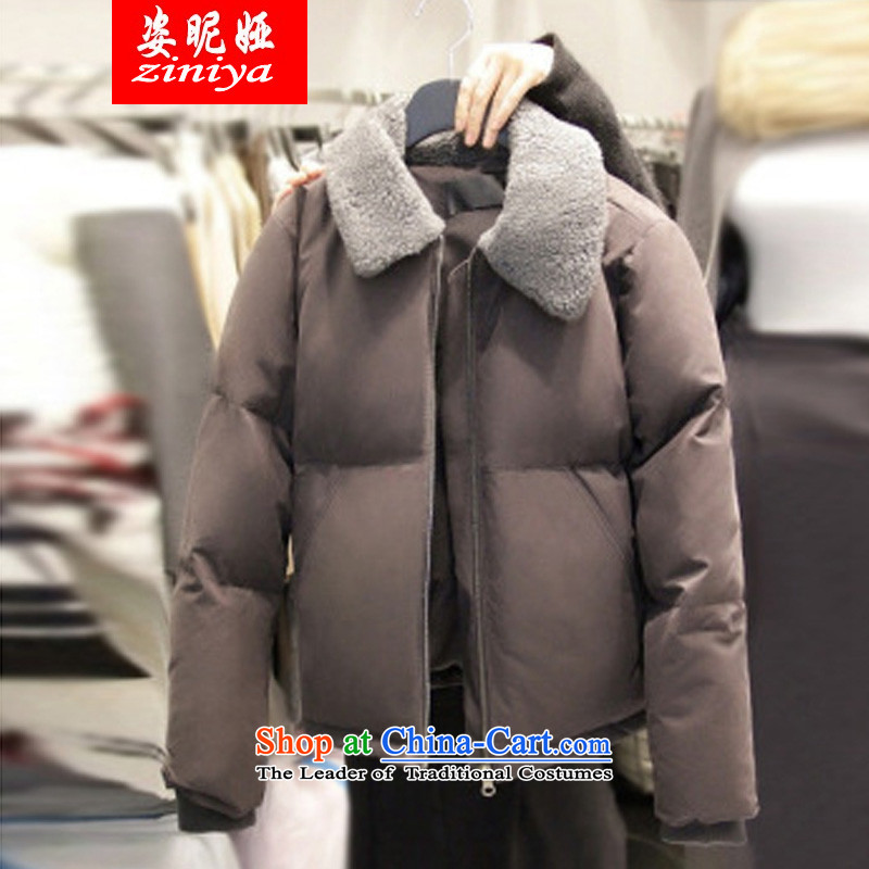 Gigi Lai King Code 2015 Tarja Halonen young women thick mm thick cotton coat sister to xl ?tòa winter jackets picture color?2XL