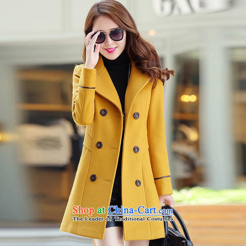 Yi products e xl double-gross coats lemon yellow BH1231? M