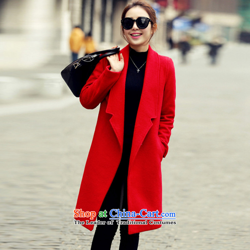Yi Jin thick and long product gross NRJ8521 red cloak? M