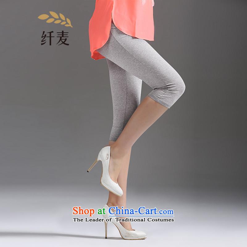 Women in the former Yugoslavia 2015 New Mak summer wear trousers large grayXXXXL 13112 ladies pants