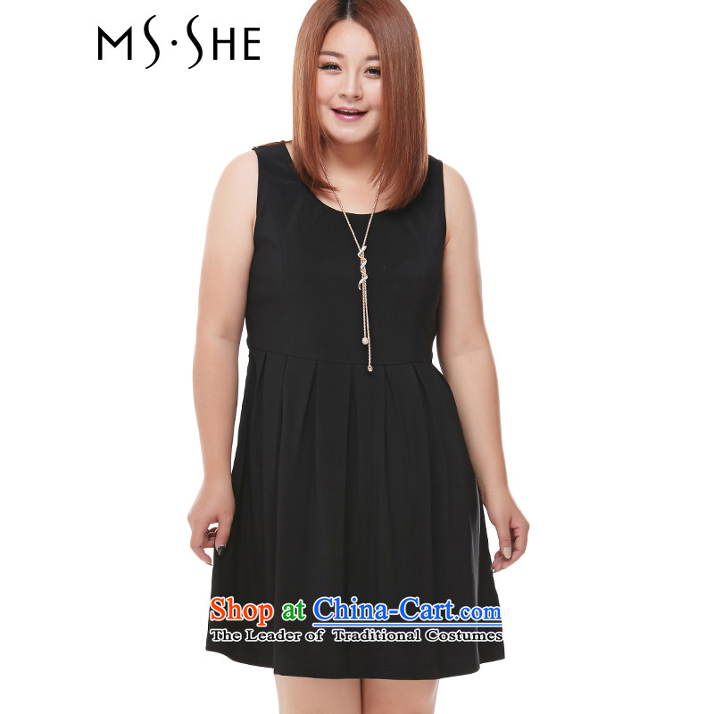 To increase the number msshe female autumn 2015 mm thick sister replacing sleeveless tank dresses wild an average 65.25 Black 4XL