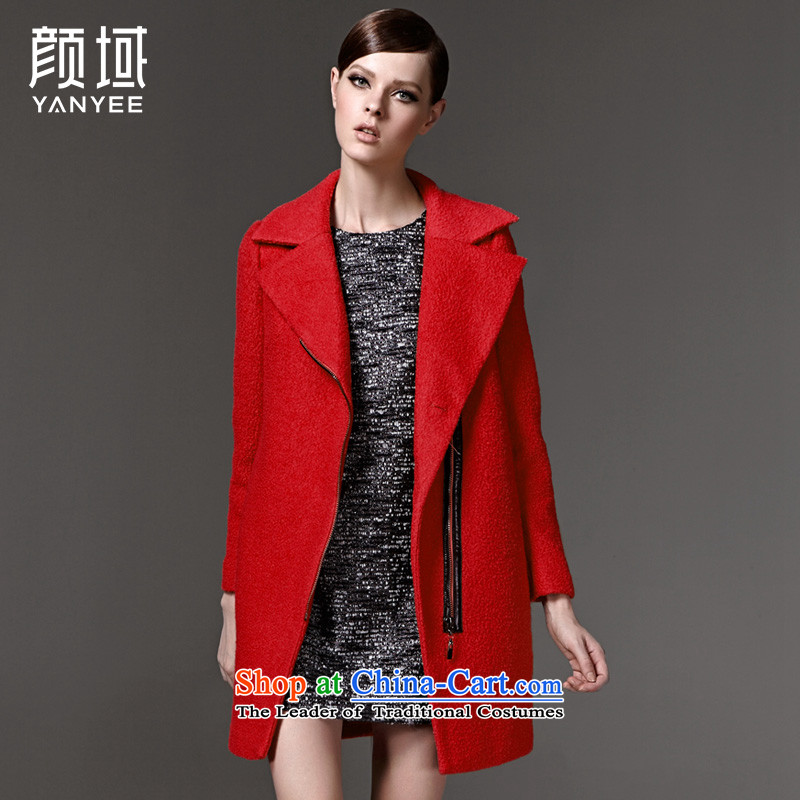 Mr NGAN domain 2015 autumn and winter new gross? jacket stylish and simple decorated thick coat�W2088 zipper爎ed燲L