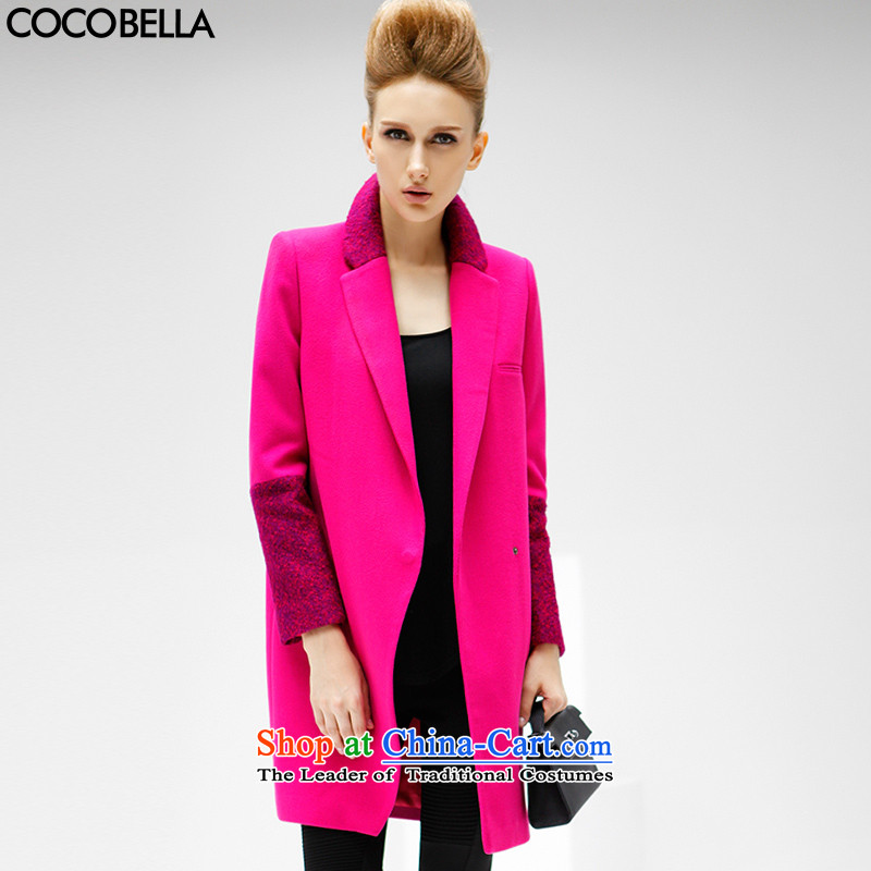 2015 WINTER western van COCOBELLA long coats a grain of withholding the stitching women's gross CT57 jacket? red?XL