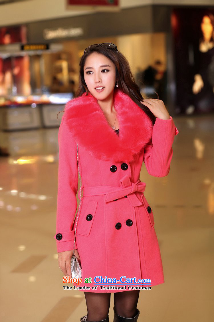 e53399ba6 The extravagance 2015 autumn and winter wheat new gross girls jacket ...
