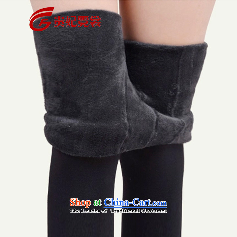 Queen sleeper sofa Tysan 2014 extra female thick mm thick winter clothing plus ultra 200 catties Stretch Wool Pants to wear the xl ladies pants boots trousers 3288 black foot2XL suitable for weight 170-200 catty