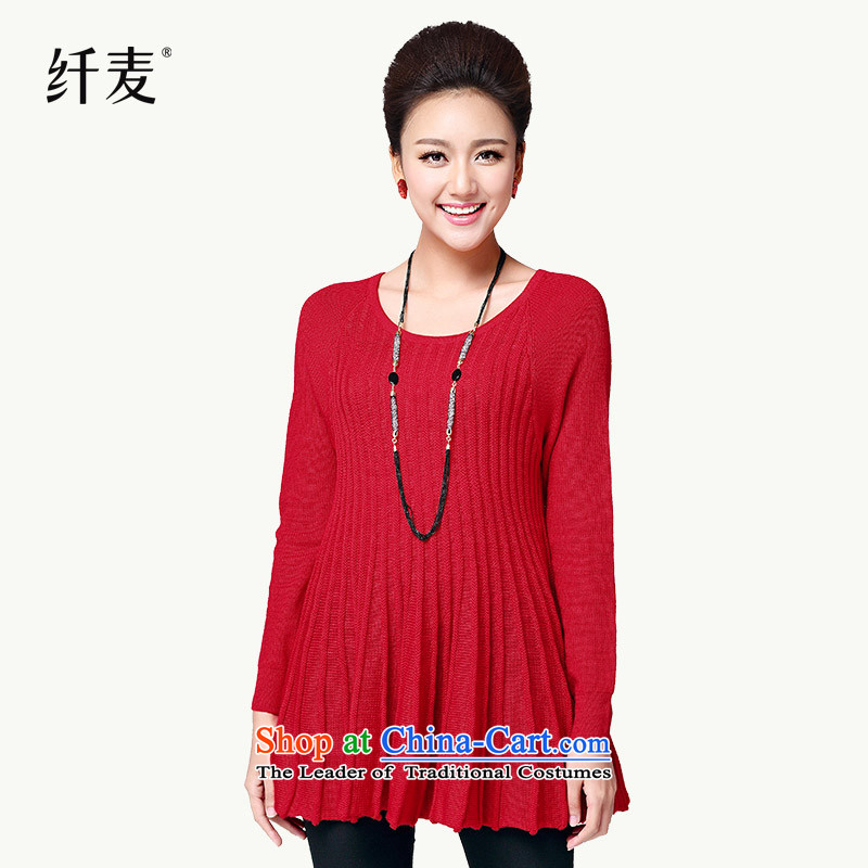 Replace the former Yugoslavia autumn 2015 Migdal Code women's new product expertise MM stylish plug-rotator cuff sweater S13048 XXXL red