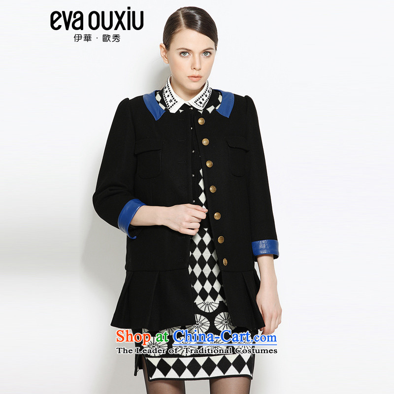 Load New autumn evaouxiu Gross Gross jacket is Ms.?? The jacket coat LS0223 black燤