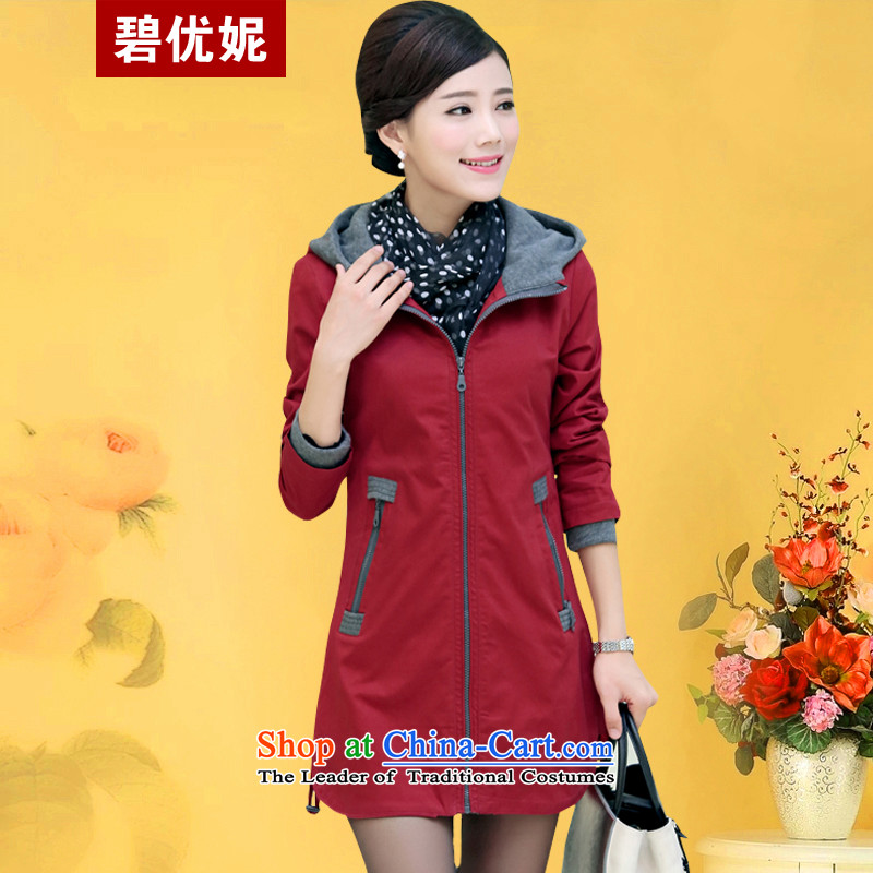 Optimize Spring Connie Pik New Sau San Fat MM cotton jacket to xl female windbreaker BY709821 girl English thoroughbred聽3XL RECOMMENDATIONS 150 - 160131 catty