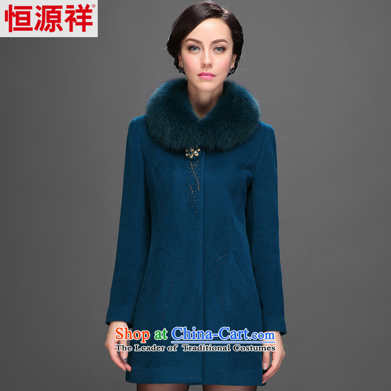 Hang Cheung 2014 medium to long term source for women in older wool coat gross for it? sub-jacket (3,032) 9# Jing Hai Ho  170/92A(XL)