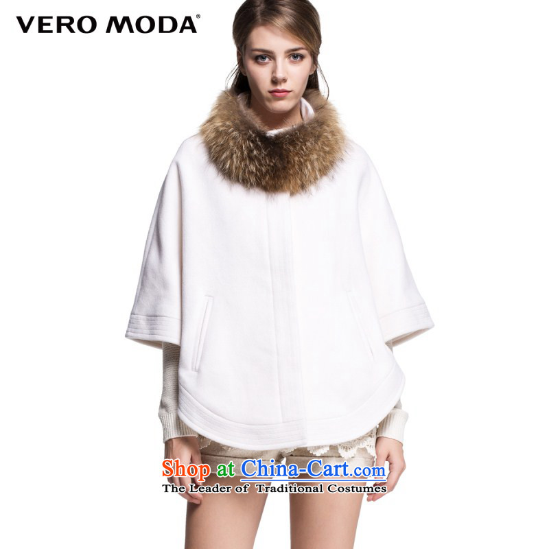 Vero moda wool can be removed from the normal child? for semi-circular shawl Ms. Gross Gross |314327020 jacket? 020 white 165_84A_M