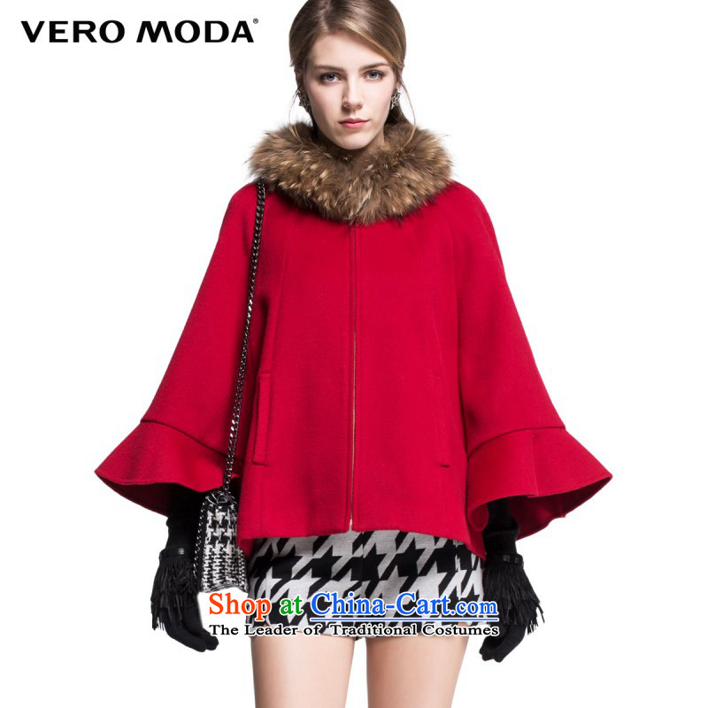 Vero moda included wool? removable terminal gross collar campaign Ms. |314327040 gross? jacket 073 deep red165_84A_M