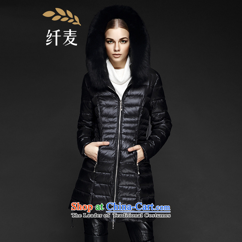 The former Yugoslavia Mak large high-end women 2015 Autumn replacing the new mm ultra pure colors thick with Cap燘lack�L 844121039 Downcoat
