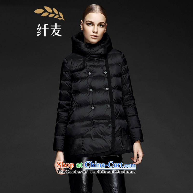 The former Yugoslavia Mak large high-end women 2015 Autumn replacing the new mm thick stylish and classy Western Black�L 844122042 Downcoat