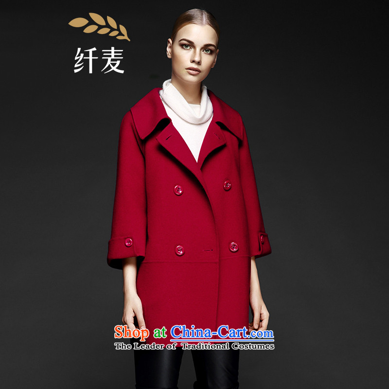 The former Yugoslavia Mak large high-end women 2015 Autumn replacing the new mm thick English temperament coats WesternRed3XL 844181085