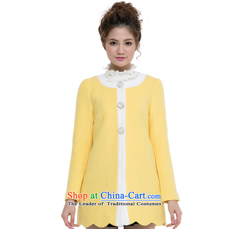 Athena Chu Jia Ni Preppy gross jacket turmeric燤?