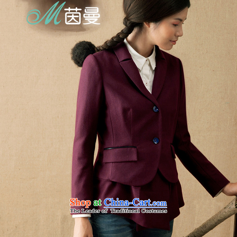 Athena Chu爊ew autumn 2015 Cayman replace simple personalization stitching leave two video thin hair girl _8433200345 jacket?- dark chestnut horses燣