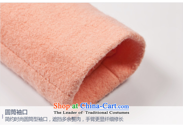 Lok-machi 2015 winter clothing new date of women's gross Neck Jacket CWBB44146 sweet pinkS picture, prices, brand platters! The elections are supplied in the national character of distribution, so action, buy now enjoy more preferential! As soon as possible.