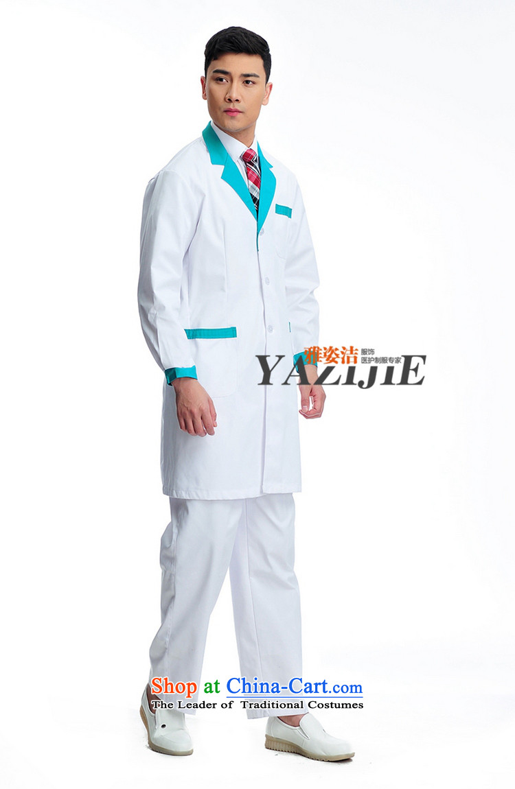Hazel Jie male doctors to serve white long-sleeved blue winter white gowns lab on her reception import health medical beauty Medical Pharmacy University hospital doctors who practice services white聽L picture, prices, brand platters! The elections are supplied in the national character of distribution, so action, buy now enjoy more preferential! As soon as possible.