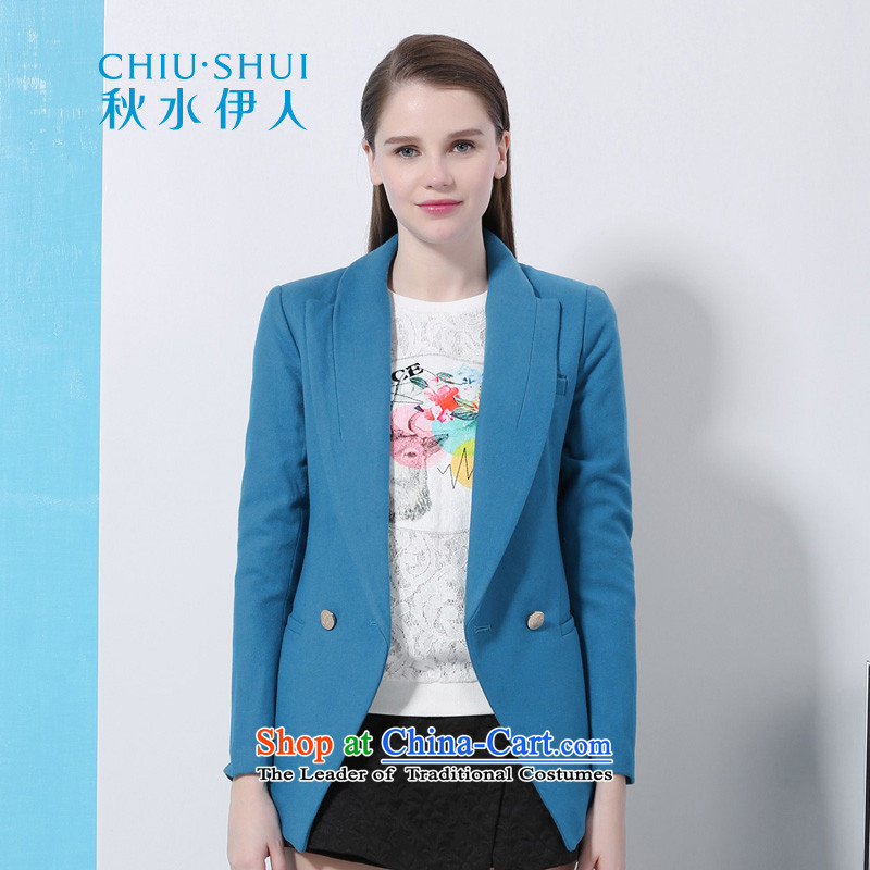 Chaplain who winter clothing new women's elegant OL Korean video thin to Sau San wool coat jacket 1341S121006?  165/L blue