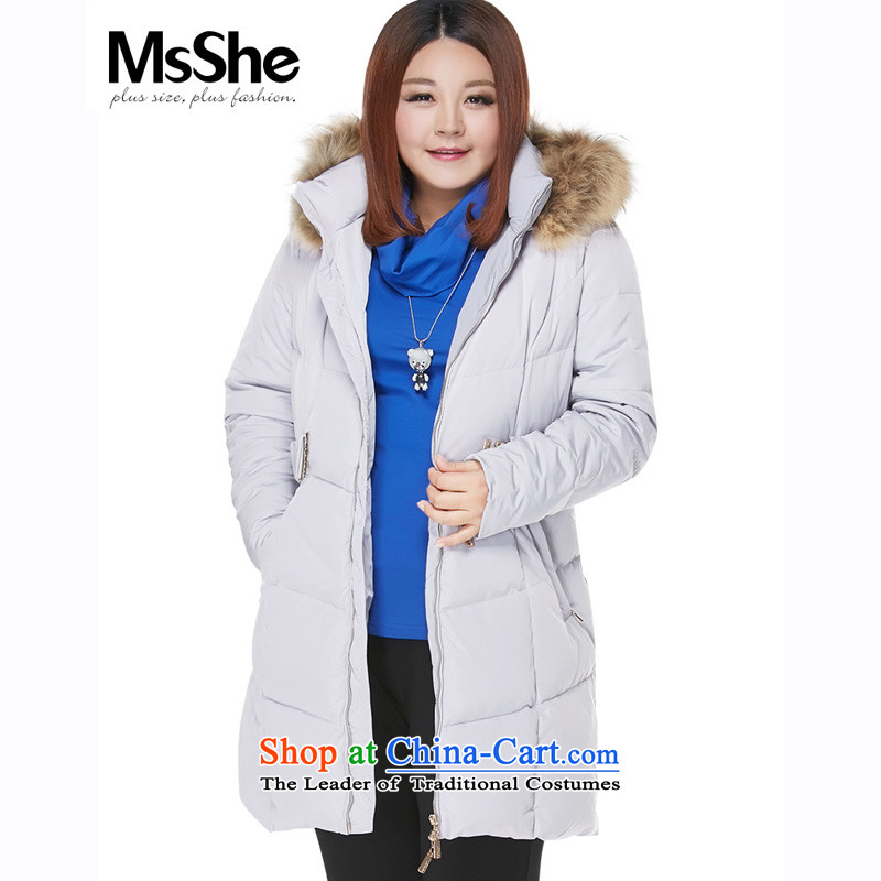 To increase the number msshe women 2015 new MM thick winter clothing is a long hair, of nuclear-down .. 68 22 Gray�L