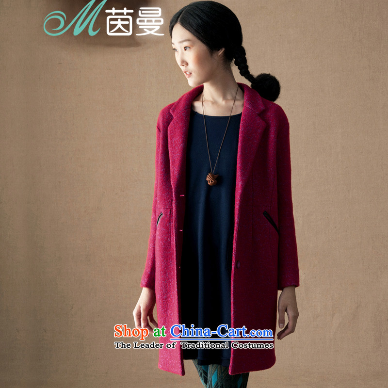 Athena Chu new autumn 2015 Cayman replace simple pocket leather in long coats _8433200440_? As the red S