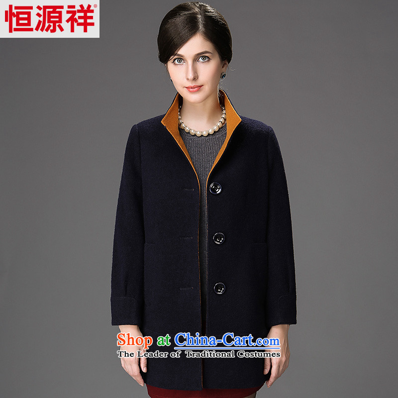 Hang Cheung 2014 winter new source for women a winter jackets, coats of older wool? 2564 1_�5_88A_L_ navy blue