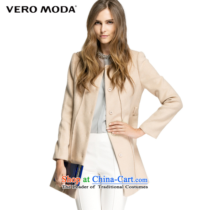 Vero moda included wool fabrics and comfortable round-neck collar knots Foutune of a swing solid color jacket |314427011 gross? 131 shallow and175/92A/XL
