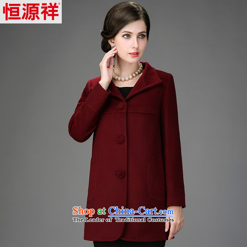Hengyuan Cheung 2014 winter in new women's older wife? sub winter jackets wool coat 2,566 Palestinians nansan chestnut horses?�5_96A_XXL_