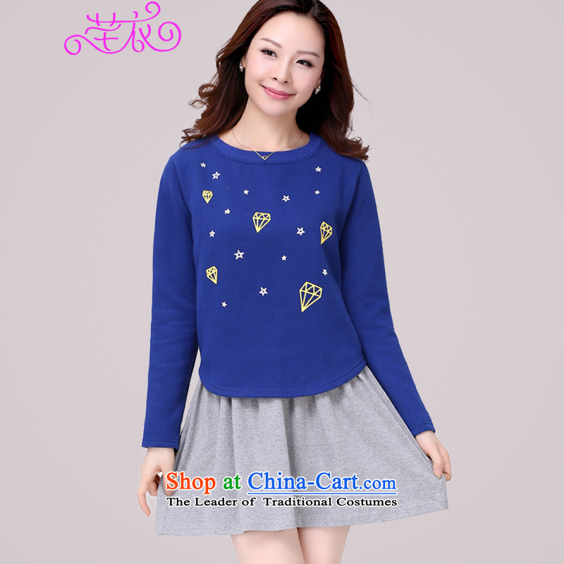 The Ventricular Hypertrophy code thick people women 2015 Spring New thick mm long-sleeved video thin foutune really two kits lady dresses 2128 Blue can refer to the chest or advice option customer service