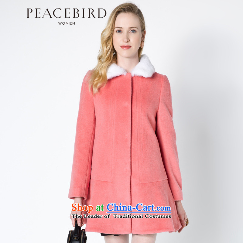 - New shining peacebird women's health round-neck collar coats A4AA44427 RED?XL