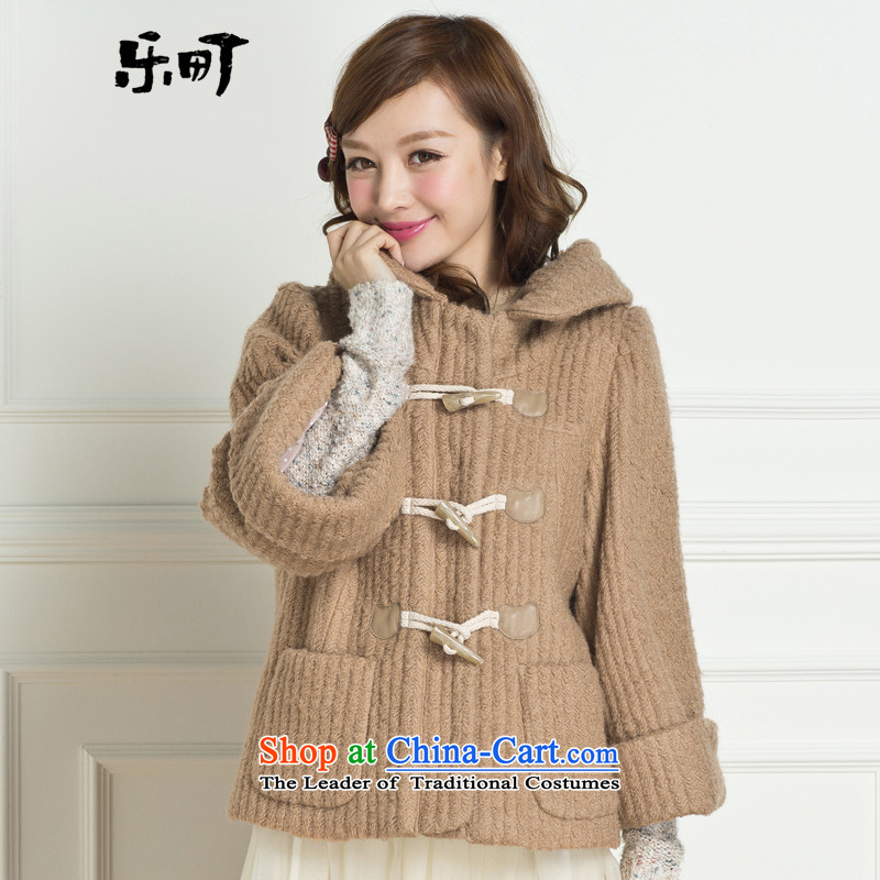 Lok-machi 2015 winter clothing new date of Female Cap sweet girl winter coats and color燣