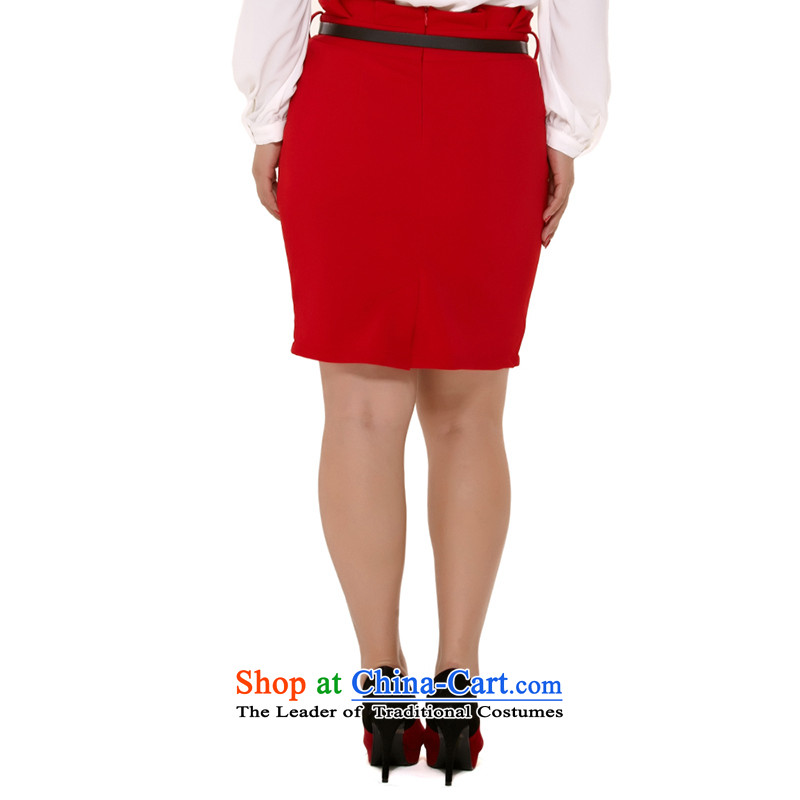 Msshe xl female body skirt autumn 2015 Graphics thin body skirt attire OL waist belts to dress up 120829 Black聽T4, Susan Carroll, the poetry Yee (MSSHE),,, shopping on the Internet
