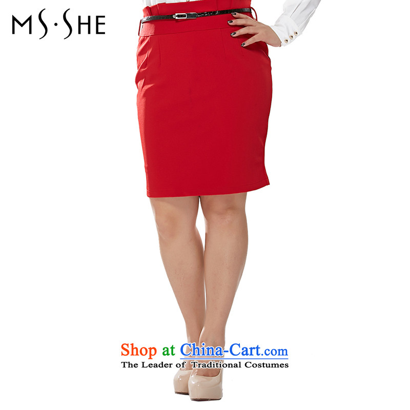 Msshe xl female body skirt autumn 2015 Graphics thin body skirt attire OL waist belts to dress up 120829 BlackT4, Susan Carroll, the poetry Yee (MSSHE),,, shopping on the Internet