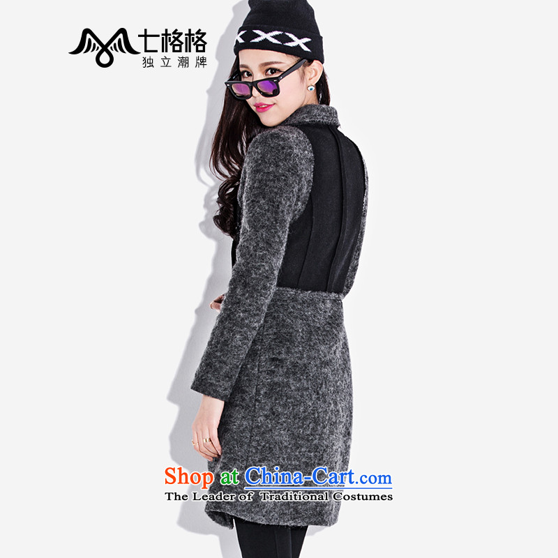 (Non-dual- 7 December for winter Princess Returning Pearl new three-dimensional construction video thin wool coat women so Sau San carbon聽XL code - Sau San Huan 7 version of (OTHERMIX) , , , shopping on the Internet