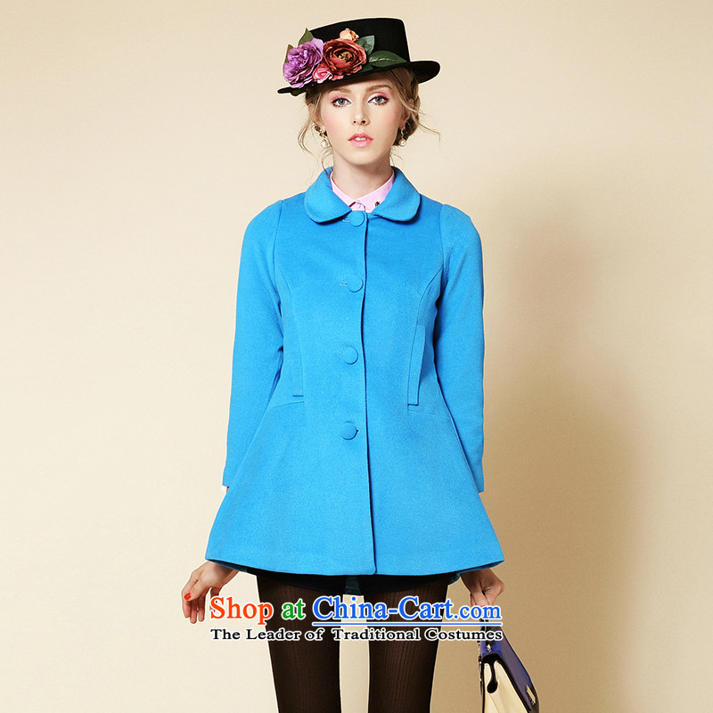 The Secretary for Health care for children in Europe ladies hair? jacket water Blue?M