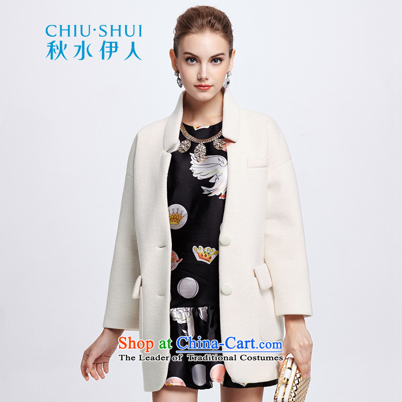 Chaplain who winter clothing new women won the auricle type loose hair version? In long overcoat?644107172??155_S this white