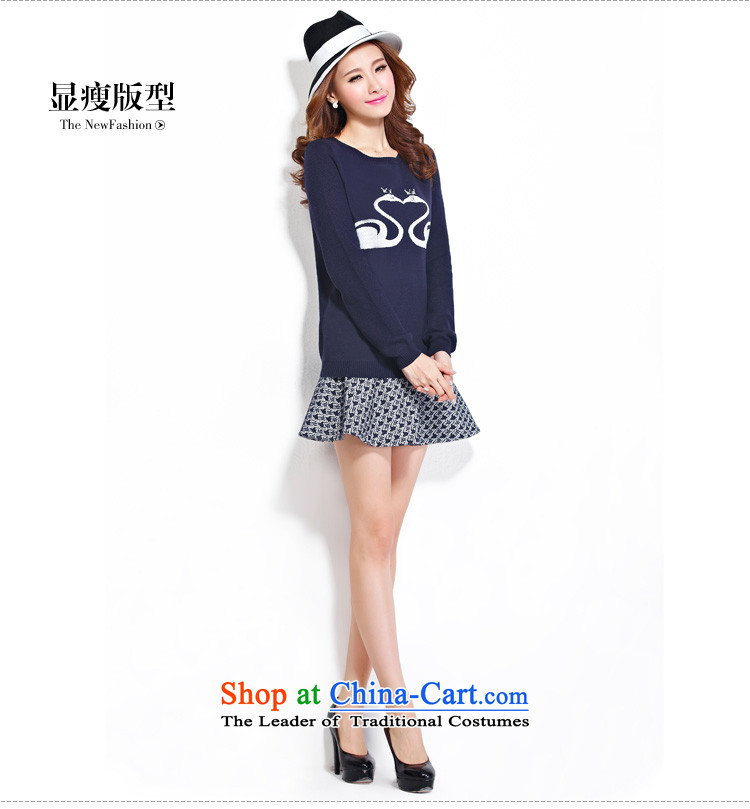 As provided for large female thick MM autumn and winter new plaid thick sister video thin billowy flounces body small short skirt No. 2279 Blue聽L picture, prices, brand platters! The elections are supplied in the national character of distribution, so action, buy now enjoy more preferential! As soon as possible.