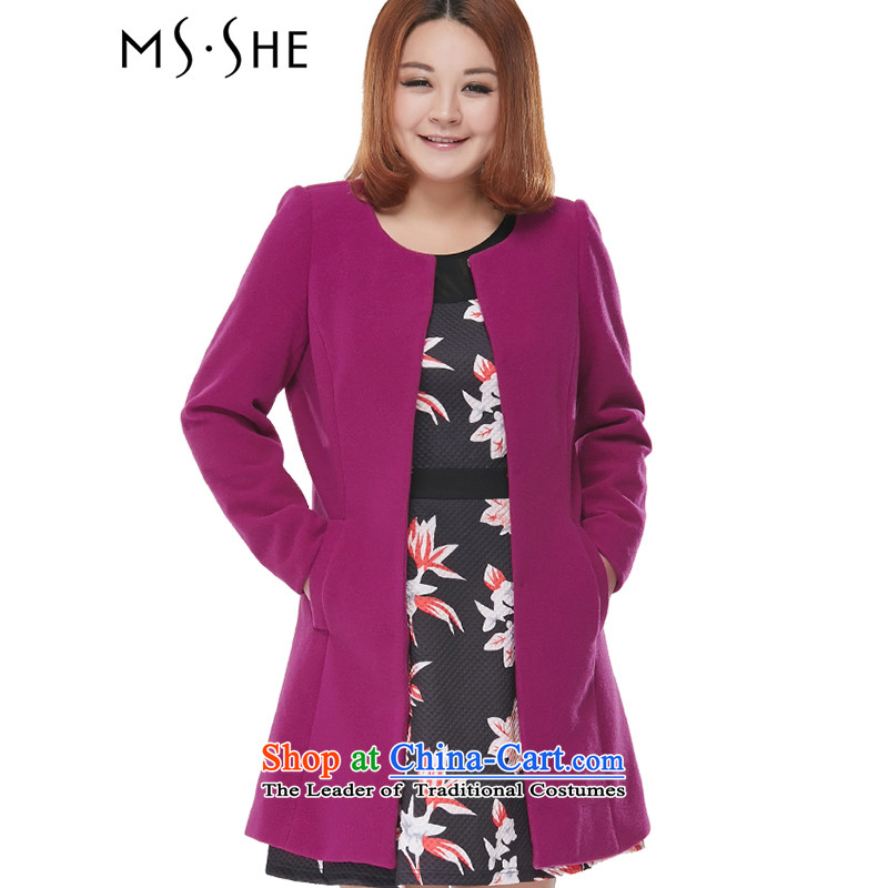 To increase the number msshe women 2015 Fall_Winter Collections in the new long thick hair? 2093 aubergine�L Jacket