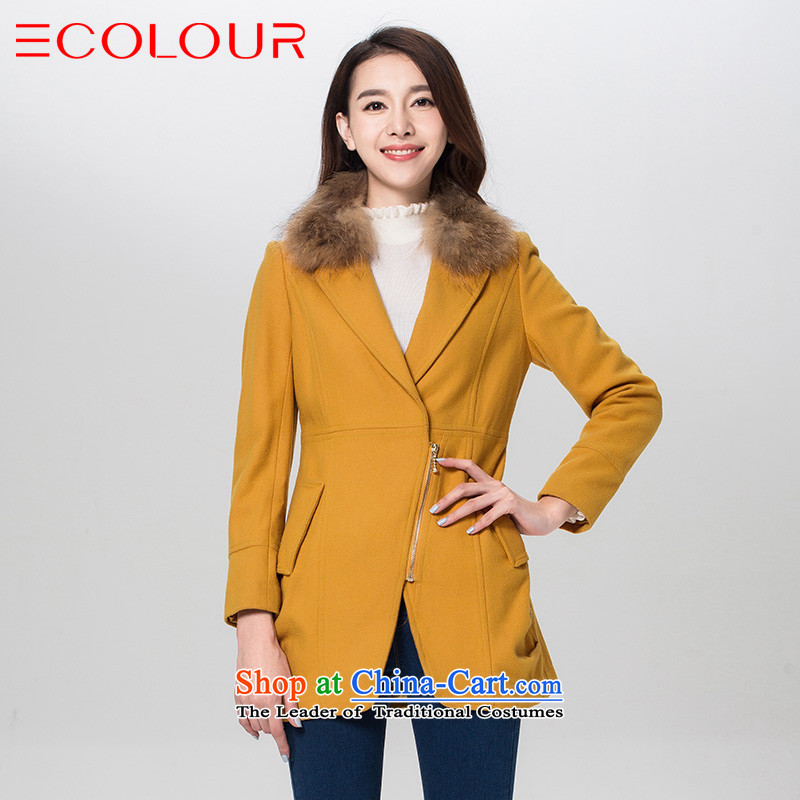 Three new multimedia 2015 winter clothing luxury warm gross for Sau San video thin selection to grow up? gross Yi Huang lady L/165/88a female