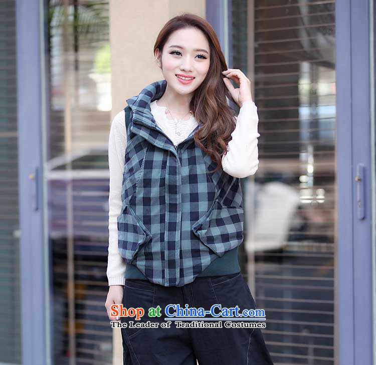 The sea route to spend the new personality crop grid sleeveless jacket 4135-1 large green tartan聽3XL picture, prices, brand platters! The elections are supplied in the national character of distribution, so action, buy now enjoy more preferential! As soon as possible.