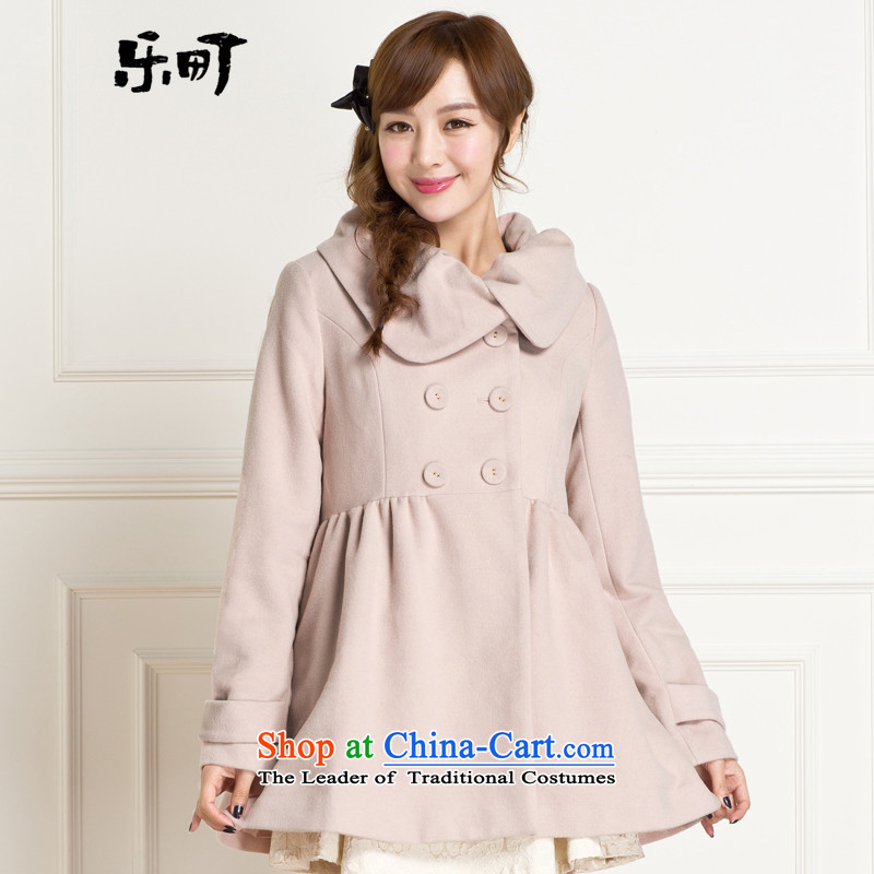 Lok-machi 2015 winter day of the new circle of women for coats and color C1AA34120?燬