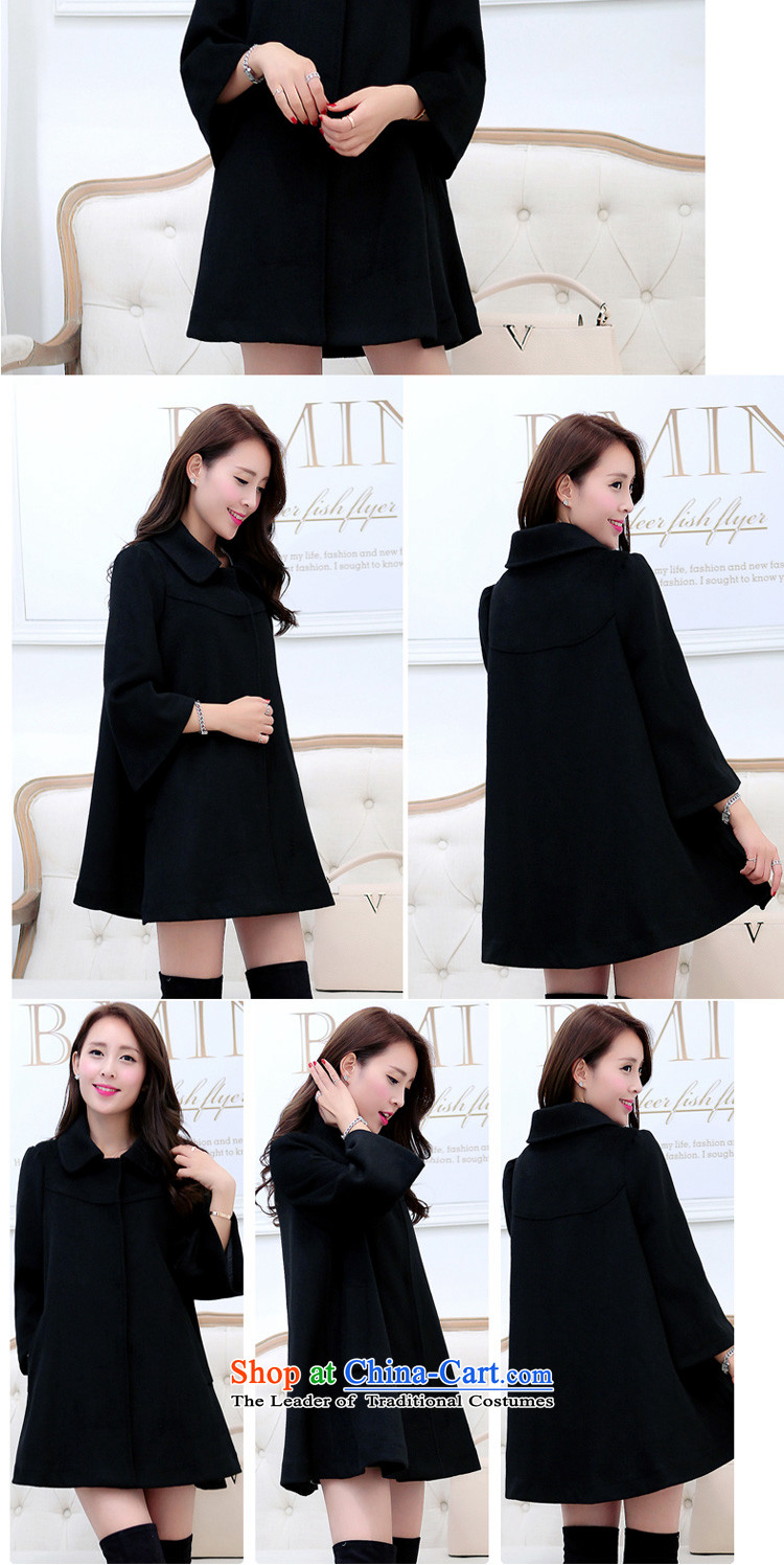 In accordance with the聽2015 autumn and winter new Korean version of the video in Sau San thin long large a wool coat cloak jacket and color聽XXXL Y239 female picture, prices, brand platters! The elections are supplied in the national character of distribution, so action, buy now enjoy more preferential! As soon as possible.