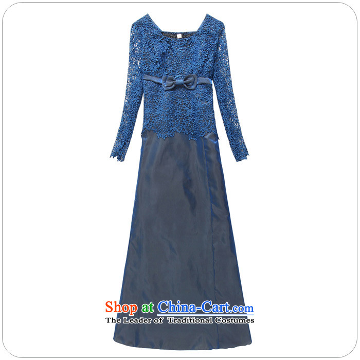 Xl Kumabito聽2015 new women's Western Wind hosted a long-sleeved skirt lace engraving wedding dinner evening dresses long skirt purple聽XL 120-140 catty picture, prices, brand platters! The elections are supplied in the national character of distribution, so action, buy now enjoy more preferential! As soon as possible.