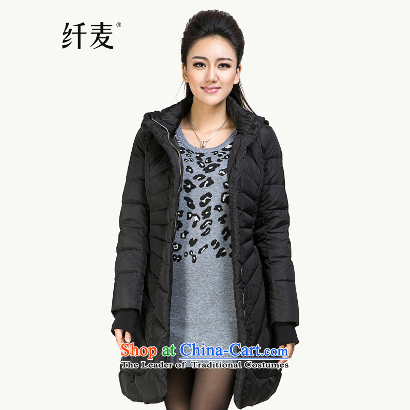 The former Yugoslavia Migdal Code women 2014 winter clothing new stylish mm thick solid color coats in long燽lack�L 844121027