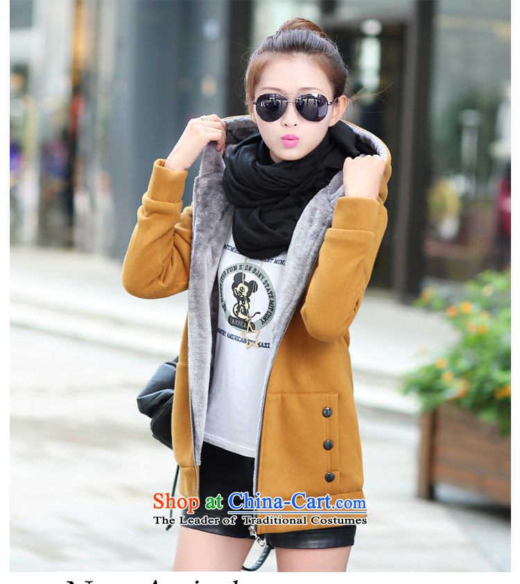 In accordance with the Shannon 2015 freshwater autumn and winter new larger female Korean version of the lint-free cotton swab services even thick cap sweater cardigan jacket female -916 Green    M picture, prices, brand platters! The elections are supplied in the national character of distribution, so action, buy now enjoy more preferential! As soon as possible.