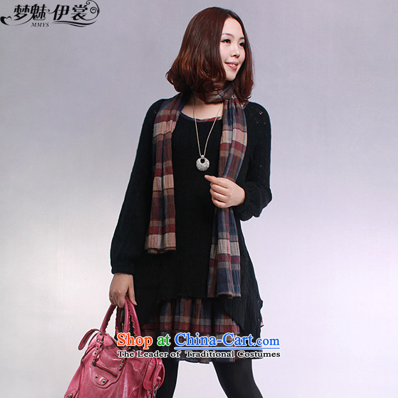 The staff of the Advisory Committee of the spring and autumn 2015 to replace the new xl women in mm thick solid long long knitting sweater yi XXL( black skirt 150-160) Recommendations