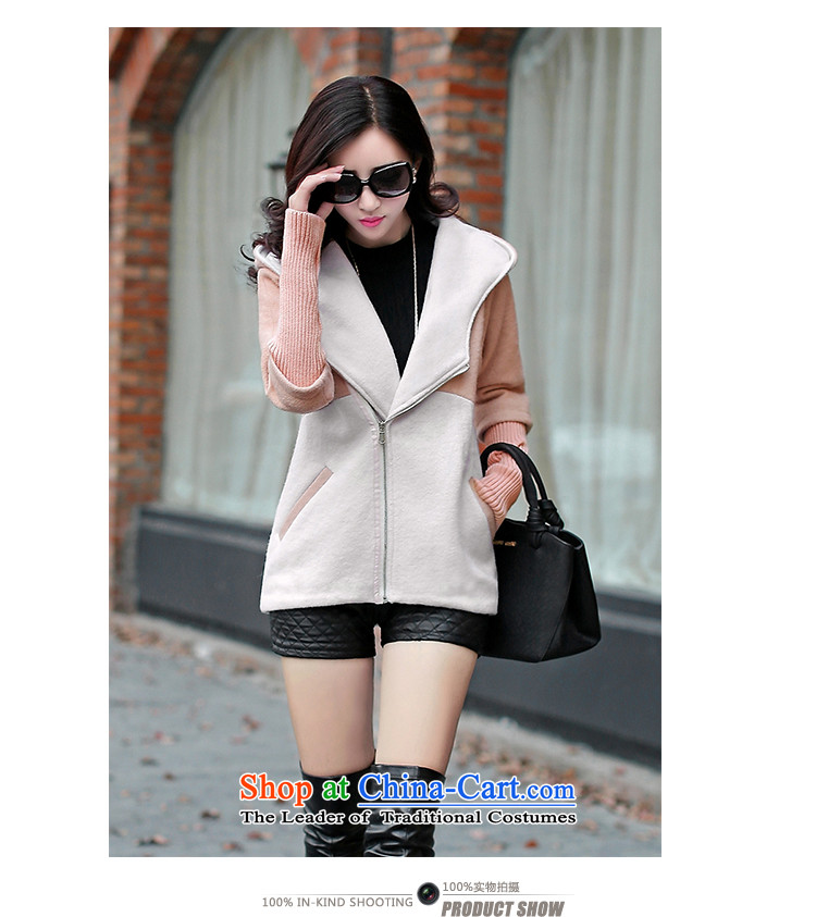 According to the聽2014 days Ji-mi autumn new product version won with cap color plane stylish gross jacket female short of what a wool coat 1020 gray聽M picture, prices, brand platters! The elections are supplied in the national character of distribution, so action, buy now enjoy more preferential! As soon as possible.