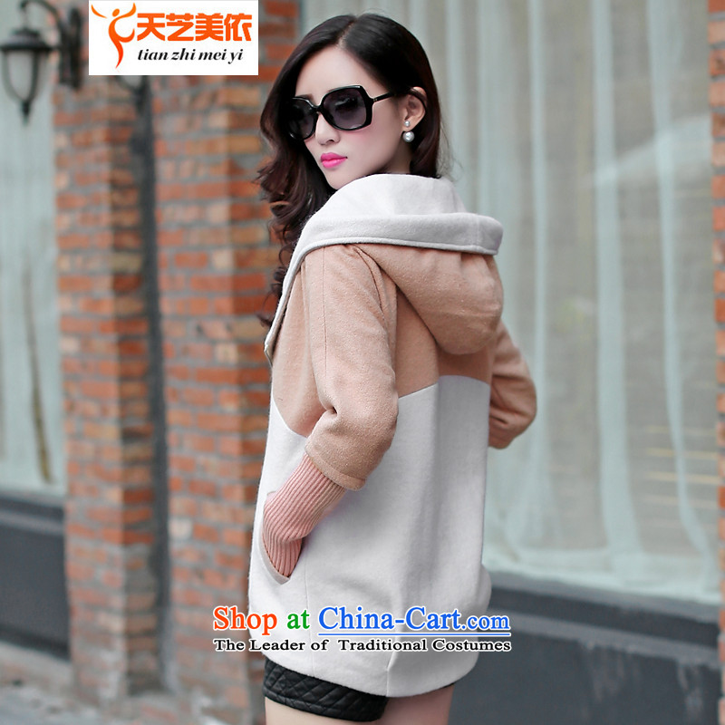 According to the聽2014 days Ji-mi autumn new product version won with cap color plane stylish gross jacket female short of what a wool coat 1020 gray聽M days (tianzhimeiyi Ji-mi) , , , shopping on the Internet