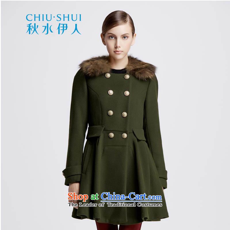 Chaplain who female uniformed wind, double-Gross Gross coats1343C122219 collar?Army Green165_L