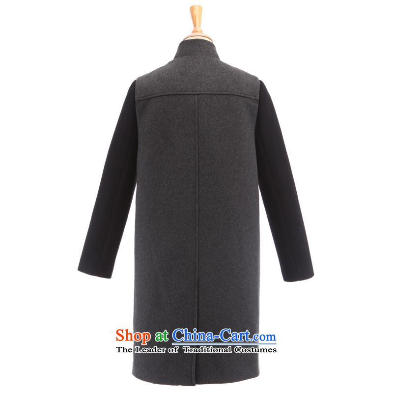 Song Leah GOELIA winter new two kits long jacket material)? 14NJ6E11B B36# deep spendL(165/88a), Gray Song Leah GOELIA () , , , shopping on the Internet